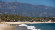 East Beach Santa Barbara seen on cruise ship tour days